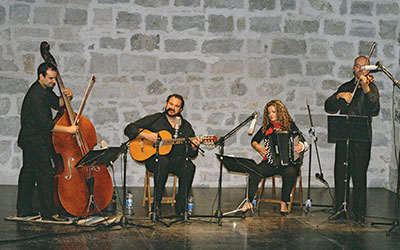 músicas del mundo, cuarteto tango querido